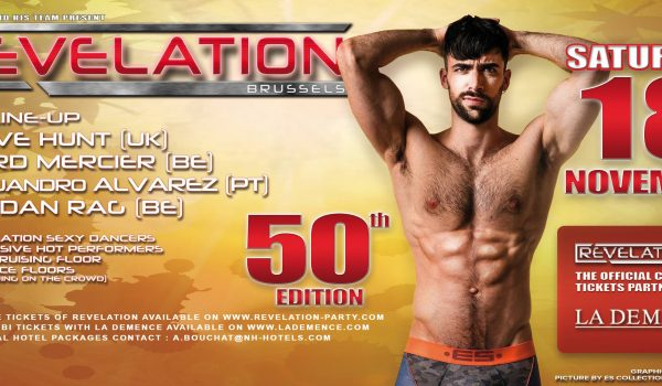 REVELATION 50th EDITION – NEXT SATURDAY- TIME LINE-UP OF DJs: