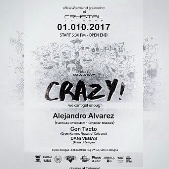 Live @ Crazy Party Cologne 01.10.2017