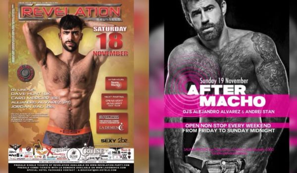 50th Edition REVELATION Brussels & After Macho