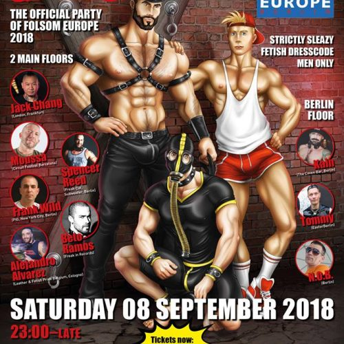 PIG PARTY BERLIN 2018 #Folsomeurope
