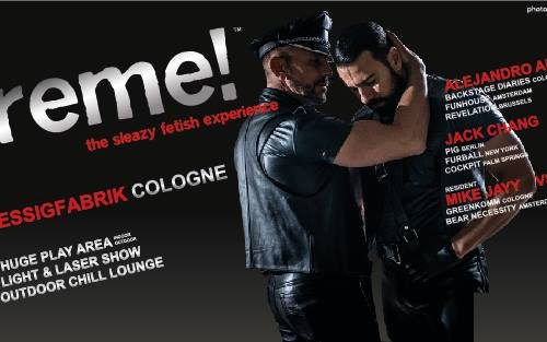 10th Anniversary Xtreme! Cologne by Alejandro Alvarez